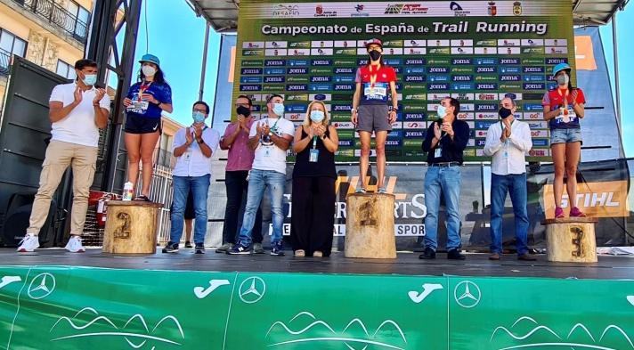 Júlia Font, subcampeona de España de trail running/Júlia Font, subcampiona d'Espanya de trail running