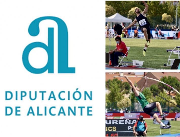 Ayudas para deportistas de la Diputación de Alicante/Ajudes per a esportistes de la Diputació d'Alacant